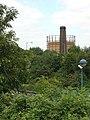 Chimney and gasholder - geograph.org.uk - 898910.jpg