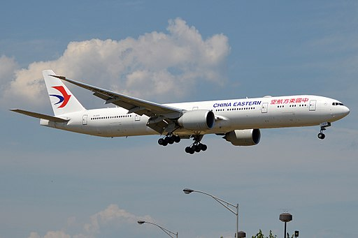 China Eastern Airlines, B-2020, Boeing 777-39P ER (19992854280)