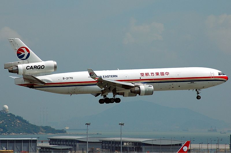 ملف:China Eastern Airlines McDonnell Douglas MD-11F Tang.jpg