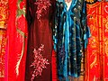 Chinese Silk Garments on Display - Chinatown - Vancouver - BC - Canada (37948416312) (2).jpg