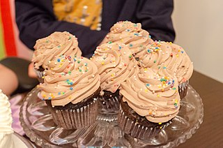 Cupcake small cake for one person