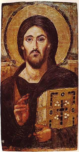 File:Christ Icon Sinai 6th century.jpg
