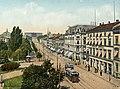 Christiania. Carl Johans Gade med Slottet (19857969660).jpg