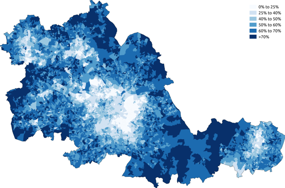 Christianity West Midlands 2011 census
