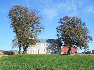 Peters Township, Franklin County, Pennsylvania - Image: Church Hill Farm Frank Co PA 2