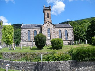 Kilmun - Image: Church of Scotland, Kilmun geograph.org.uk 1353962