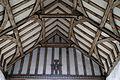 Church of St Mary, Tilty Essex England - nave ceiling east.jpg