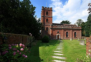 Avington, Hampshire - Church of St. Mary, Avington