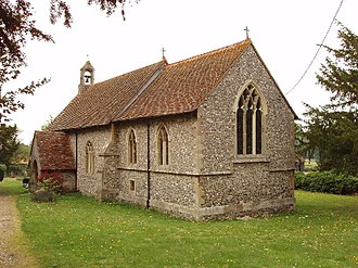 Crowell, Oxfordshire - Image: Church of The Nativity of the Blessed Virgin Mary, Crowell geograph.org.uk 39367