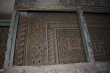 Church of the Nativity mosaic floor 2010 5.jpg