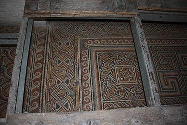 Church of the Nativity mosaic floor 2010 5.jpg