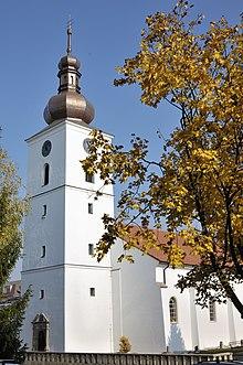 Kostol v súčasnej podobe.