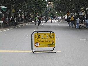 Ciclovía - Ciclovía in Bogotá