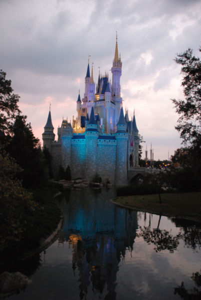 Image:Cinderella castle night.jpg