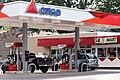 Citgo gas pumps in Glenville, New York.jpg