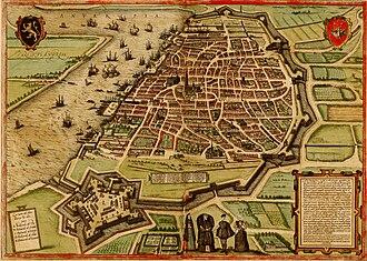 Berenberg family - Antwerp in modern Belgium in 1572