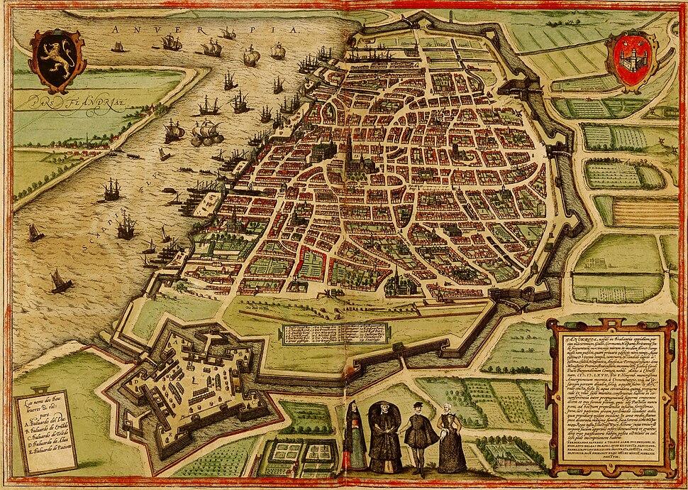 City of Antwerp, 1572