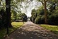 City of London Cemetery Chapel Avenue to Main Gate 1 dappled light.jpg