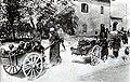 Civilni prebivalci so zaradi vojne zapustili svoje domove na Krasu.jpg
