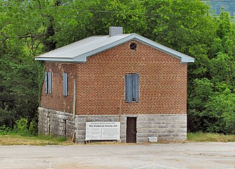 National Register of Historic Places listings in Claiborne County, Tennessee - Image: Claiborne County Jail tn 1
