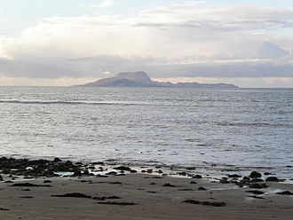 Clare Island - Clare Island from Clew Bay