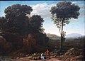 Claude Gellée, Le Lorrain - Pastoral Landscape with a Mill - LACMA - without frame.JPG