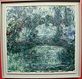Claude monet, il ponte giapponese sullo stagno delle ninfee a giverny, 1920-24 ca..JPG