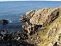 Cliff at Rubha Bàn - geograph.org.uk - 334426.jpg