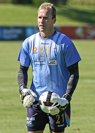Clint Bolton - Bolton training with Sydney FC ahead of the 2009–10 season