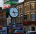 Clock by Sutton station, SUTTON, Surrey, Greater London (3) - Flickr - tonymonblat.jpg