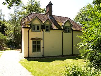 Clouds Hill - The rear of the cottage