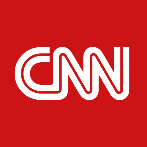 Cnn logo red background