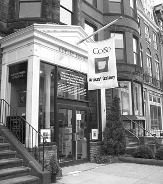 Copley Society of Art - Image: Co So exterior B&W