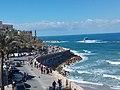 Coast of Tel Aviv from Jaffa(1).jpg