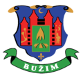 Coat of Arms of Bužim.png