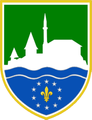 Coat of Arms of Cazin.png