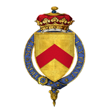 Colour diagram of Stafford's coat of arms