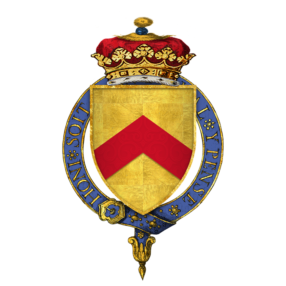 Coat of Arms of Sir Humphrey Stafford, 1st Duke of Buckingham, KG