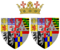 Coat of arms of Maria Anna of Savoy as Duchess of Chablais.png