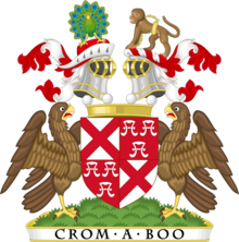 Coat of arms of the baron de Ros - Premier baron of England.png
