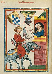 Codex Manesse Folio 164v Leuthold von Seven.jpg