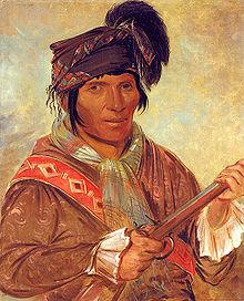 American Colonists Clothing Coeehajo, Chief, 1837,...