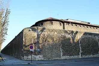 Laure Gatet - La Sante Prison in Paris where Gatet was held for a while