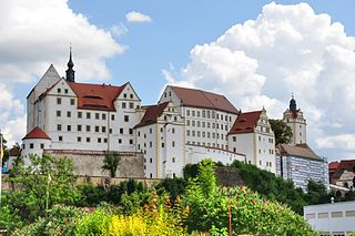 Colditz Castle Castle in Germany; prisoner of war camp in World War II