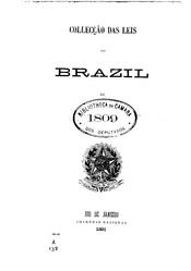 Português: Collecção das leis do Brazil de 1809