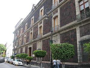 El Colegio Nacional (Mexico) - Image: Colegio Nacional DF