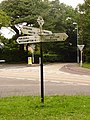 Colehill, finger-post at the church crossroads - geograph.org.uk - 1398806.jpg