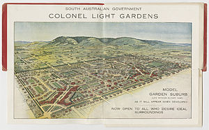 Colonel Light Gardens, South Australia - Postcard depicting the suburb, ca. 1921