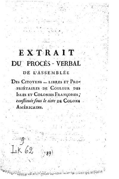 File:Colons Américains Procès-verbal Assemblée du 22 septembre 1789.djvu