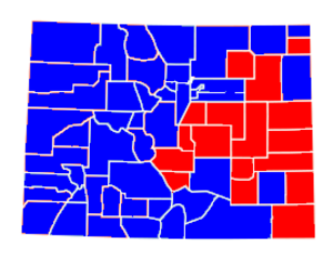 United States Senate election in Colorado, 1992 - Image: Colorado 1992 senate